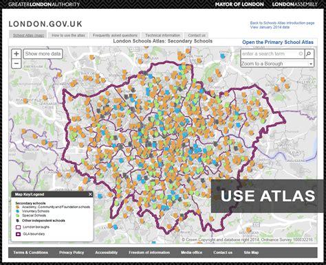 atlas pattern works school atlas london datastore