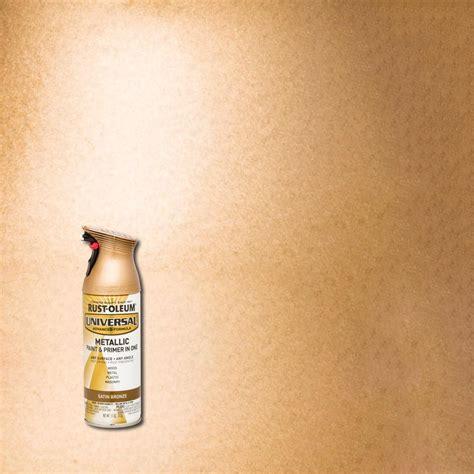 home depot spray paint bronze rust oleum universal 11 oz all surface satin bronze