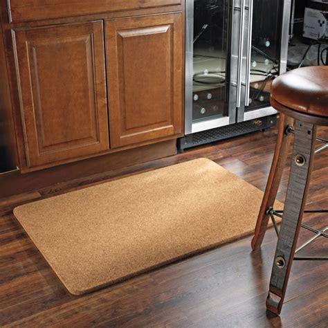 cork floor mat the green