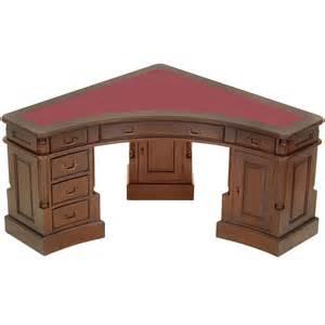 bureau d angle en acajou walden meuble de style