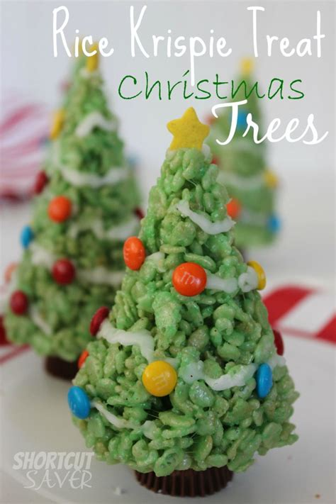 christmas tree saver recipe rice krispie treat trees cut saver