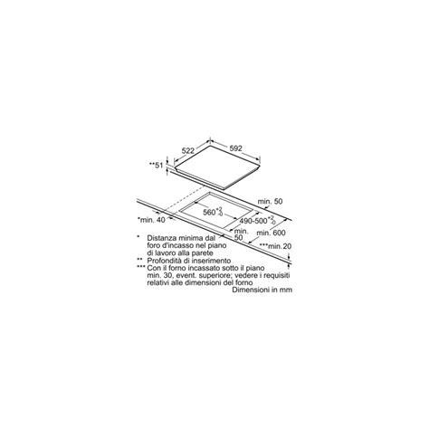 bosch piani cottura induzione bosch pue611bf1e piano cottura ad induzione 60 cm
