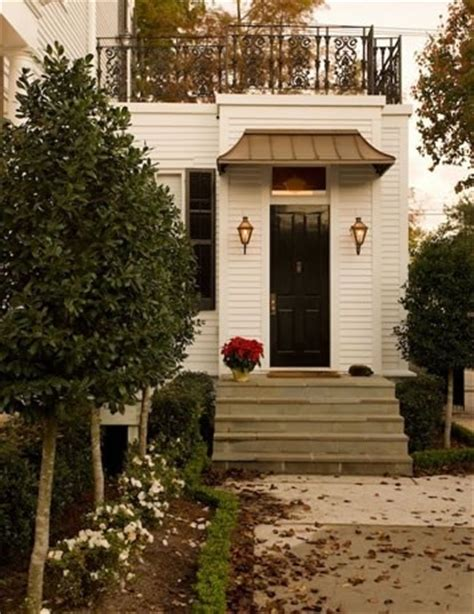 copper porch awning copper awning flagstone steps porch canopy pinterest
