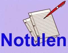 Membuat Notulen Dari Hasil Rapat by Pengertian Notulen Contoh Notulen Membuat Notulen Yang