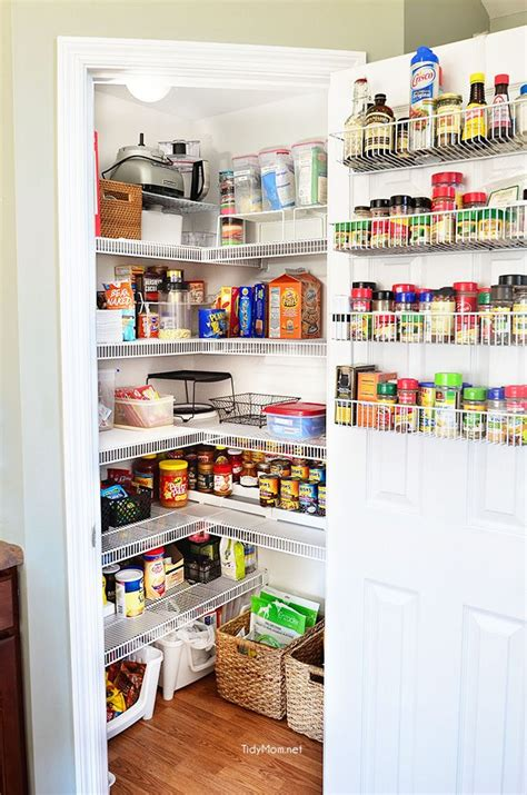 Closet Organizers Ideas Pictures - real life pantry organization tidymom 174