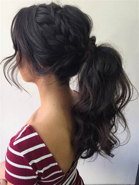 Curly Ponytail Hairstyles by 27 Gorgeous Prom Hairstyles For Hair Page 2 Of 3