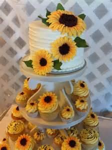 sunflower cake amp cupcakes