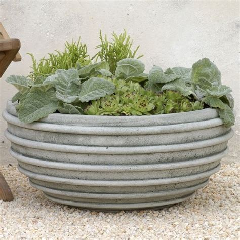 Large Garden Planters Tuscon Large Planter Contemporary Outdoor Pots And