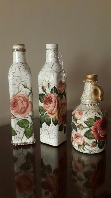 Bottle Decoupage - decoupage bottles mari s recycled bottles