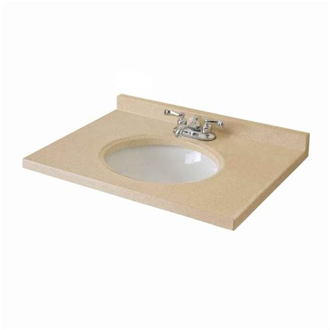 Woodnote Vanity Top by Woodnote Kitchens And Baths 31 In Biscotti Cultured