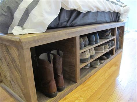 diy headboard storage diy pallet bed with storage and headboard 101 pallets design your diy