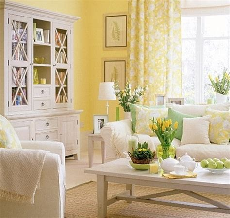 yellow living room colors spring color yellow for a living room living family