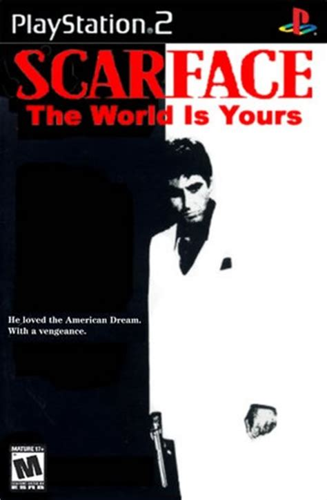 scarface: the world is yours playstation 2 box art cover