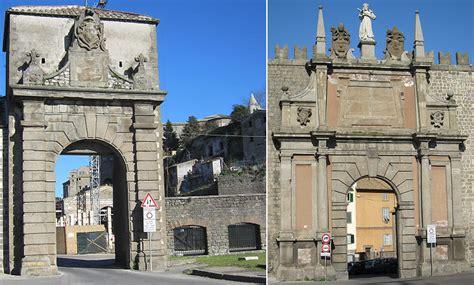 viterbo porta romana viterbo walls gates and towers