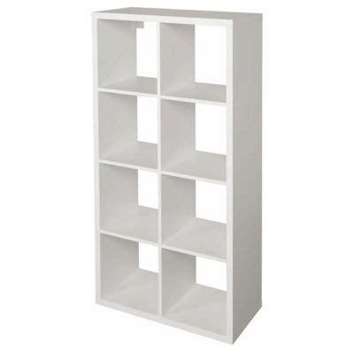 etagere 8 cases ikea 201 tag 232 re modulable 8 cases coloris blanc mixxit castorama