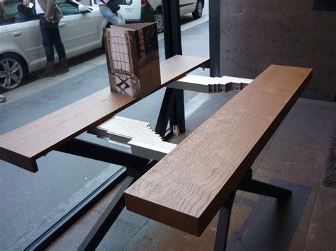 tavolo shangai riflessi consolle shangai riflessi le novit 224 per il salone mobile