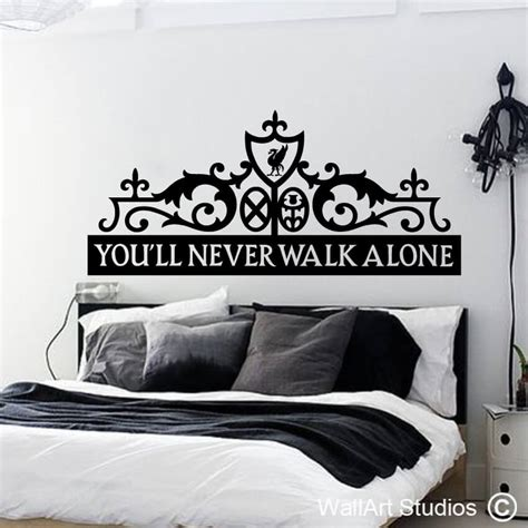 headboard wall art liverpool headboard decal wallart studios