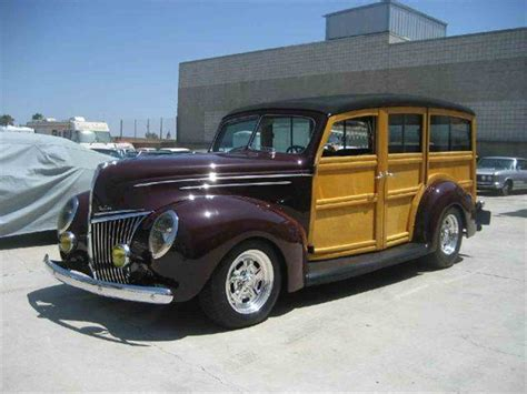 woody ford service 1939 ford woody wagon for sale classiccars cc 554069