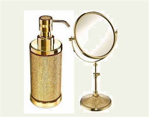 accessori bagno oro accessori bagno oro e swarovski acquaviva ag by bathline