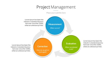project management powerpoint templates project management powerpoint presentation template by