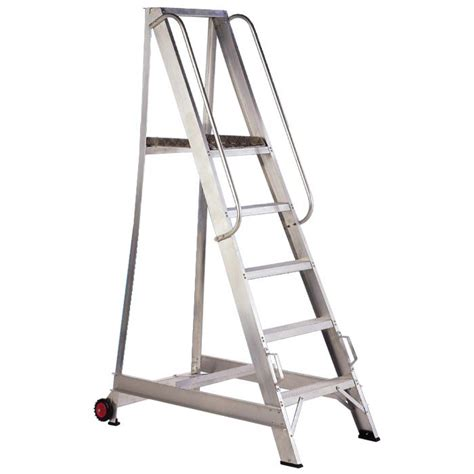 aluminium warehouse step ladders ladders4sale