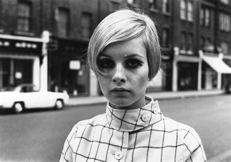 models of the 1960 with short hair twiggy the model quotes quotesgram