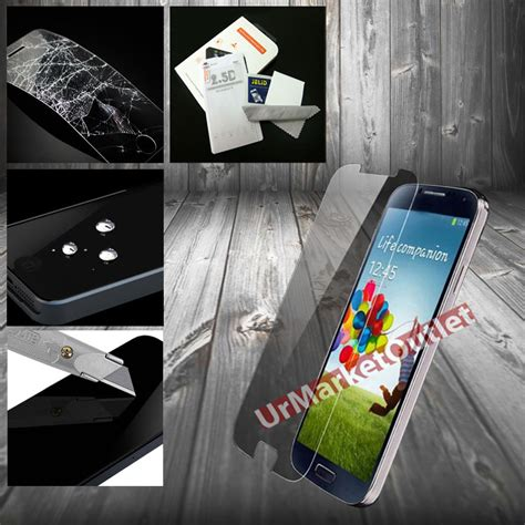 Tempered Glass Anti Samsung Galaxy S4 S5 Note 2 3 026 Mm tempered glass screen protector anti scratch fit samsung