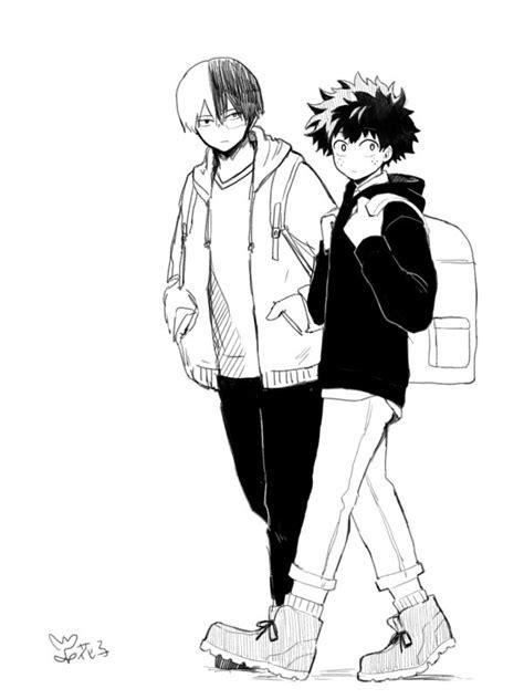 Kaos Anime Boku No Academia White boku no academia my academia wallpaper zerochan anime image board