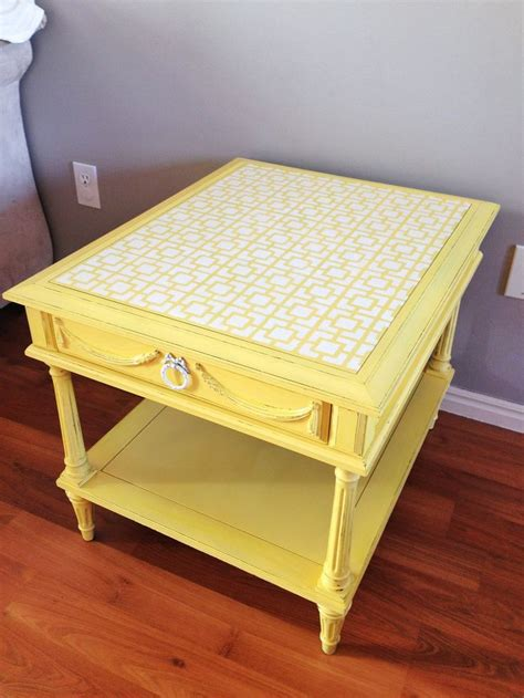 stenciling furniture faux show