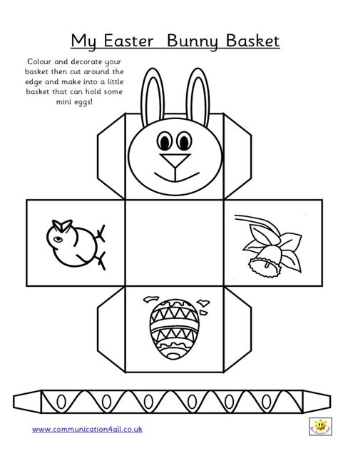 easter picture templates free paper easter basket templates hd easter images