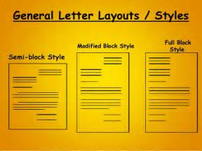 Indented Block Format Business Letter letter writing business personal letter writing format