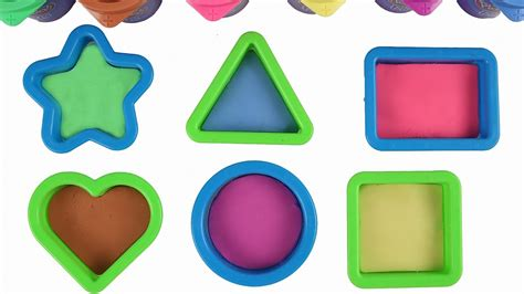Play Doh Shape Learn Colors And Shapes learn shapes with play doh plus for play doh shapes learning play doh
