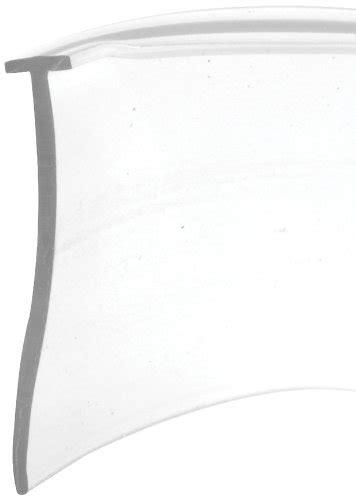 Shower Door Seals Bottom Slide Co 194342 Shower Door Bottom Seal Quot T Quot 5 32 In X 36 In X 1 In Clear Vinyl