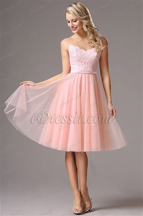 sleeveless sweetheart neck pink cocktail dress party dress