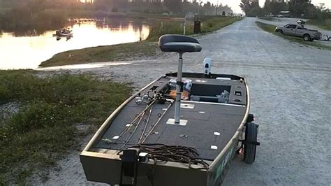 jon boat gunnel cl loxahatchee boat launch youtube