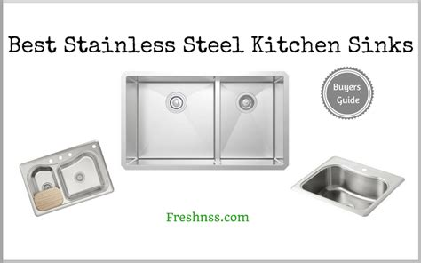 best stainless steel kitchen sinks reviews of 2018