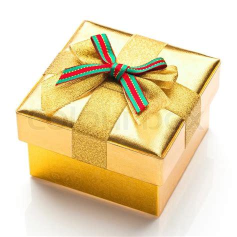 beautiful gifts beautiful gift box with a white background stock photo