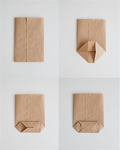 How To Fold A Paper Pouch - best 25 diy paper bag ideas on diy fold paper