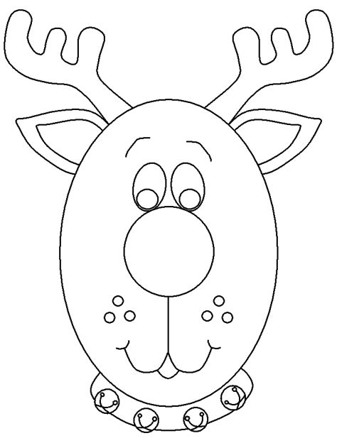 deer face coloring pages reindeer head coloring pages coloring home
