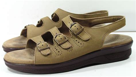 shoes sas tripad comfort sas tripad comfort sandals womens 8 5 m b tan leather
