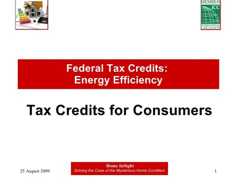 Federal Efficiency Tax Credits | tax credits for energy efficiency website