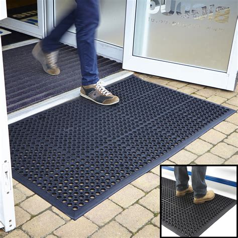Big Door Mats by Entrance Mat Outdoor Rubber Indoor Large Door Mats Large Kitchen 3 Sizes Bigdug Ebay