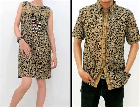Cople Shofiya 3 Batik paulin dress with floral motifs batik batik