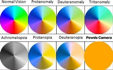 types of color blindness types of color blindness pewdiepiesubmissions