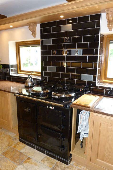 28 black subway tile kitchen backsplash kitchen