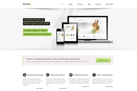 review avada template van theme fusion milcraft