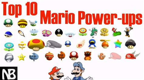 Top 7 Powerups by All Mario Power Ups Pictures To Pin On Pinsdaddy