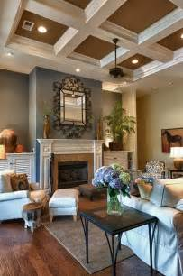 Ceiling Colours For Living Room Great Blue Brown Living Room In Set Of 168 House Photos The Home Touches