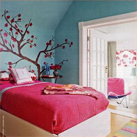 pink  turquoise girls room contemporary bedroom