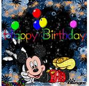Happy Birthday  Mickey Mouse Picture 125106807 Blingeecom